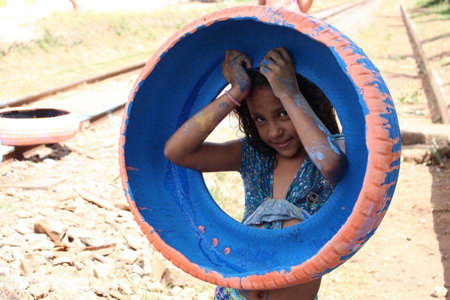 Comunidade do Gesso se prepara para Dia das Crianças