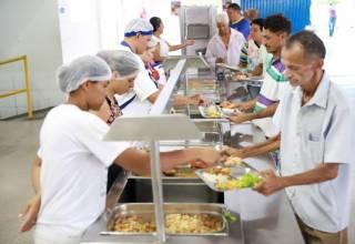 Cozinhas Comunitárias e Restaurante Popular estão em recesso e retornam dia 6 de janeiro