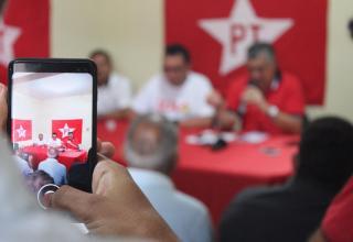 Deputado Guimarães atende imprensa do Crato em primeira agenda oficial