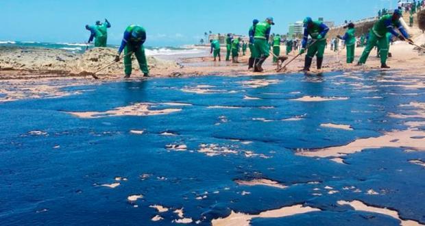 Ibama contabiliza mais 800 pontos atingidos com manchas de óleo