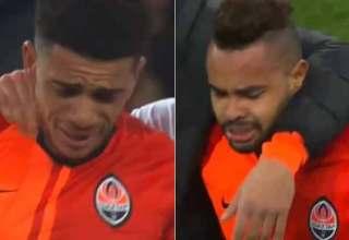 Jogadores brasileiros deixam campo chorando após ato de racismo na Ucrânia