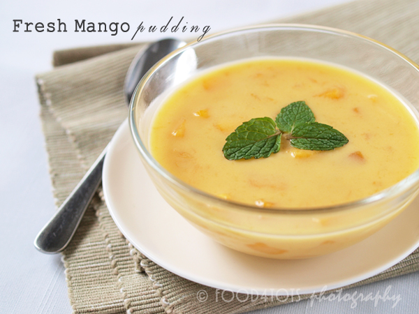 Fresh Mango Pudding Food 4Tots Recipes For Toddlers