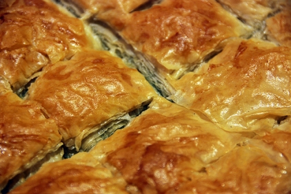#Gourmed_spinach pie