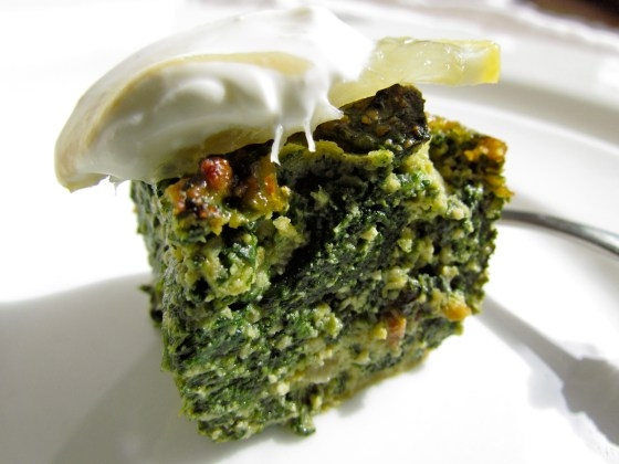 spinach nibbles