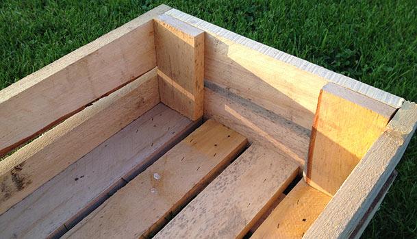 DIY wooden boxes
