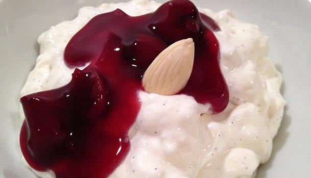Danish christmas dessert