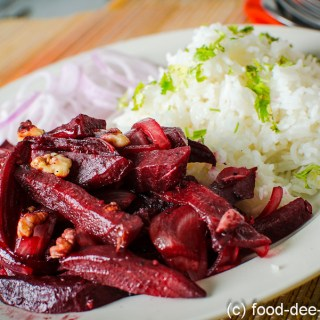 Roasted Beetroot with Balsamic Vinegar