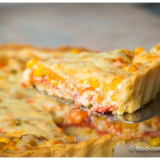 Quiche: Potato, Corn & Bacon