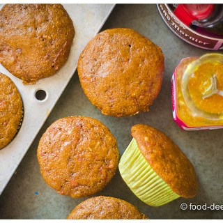 Carrot Bran Breakfast Muffins