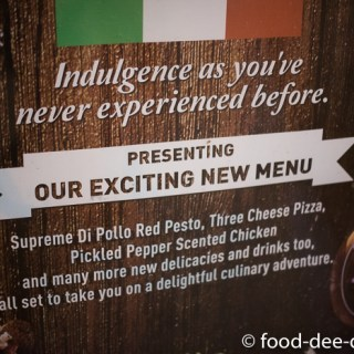 Eating Out: New Menu @ Spaghetti Kitchen