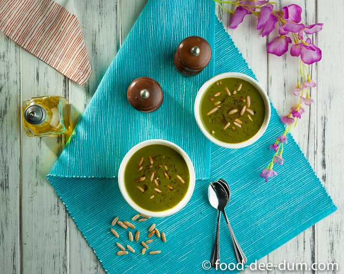 About food dee dum an indian food blog made in india food dee dum spinach cold soup recipe 9 forumfinder Images