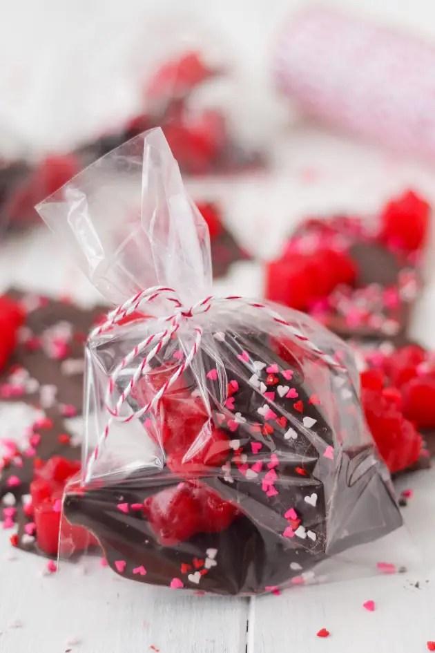 Valentines Day Chocolate Bark Food Fanatic