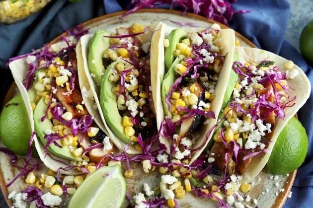 Chicken Avocado Tacos Photo