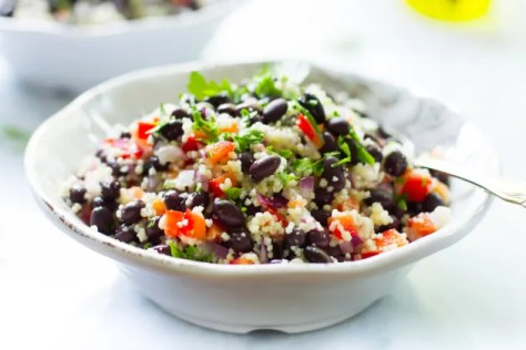 Black Bean Couscous Salad Image