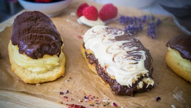 Low-Carb Eclair