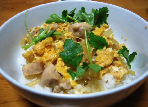 Rice Bowl - Chicken and Egg (Oyako-Don)