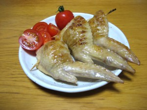 Chicken wing dumpling, Japanese food