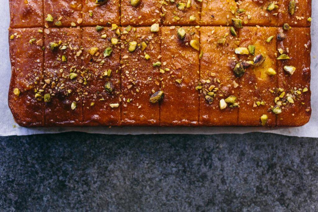 Cake delivery, Wild Flour orange cake