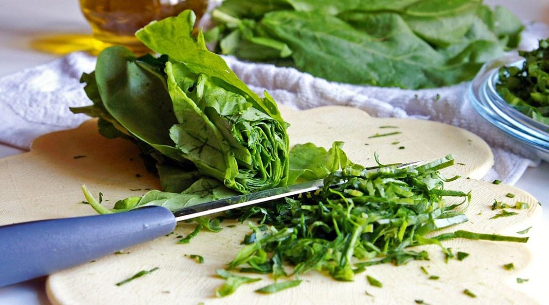 Food sensitivities, lettuce on plate