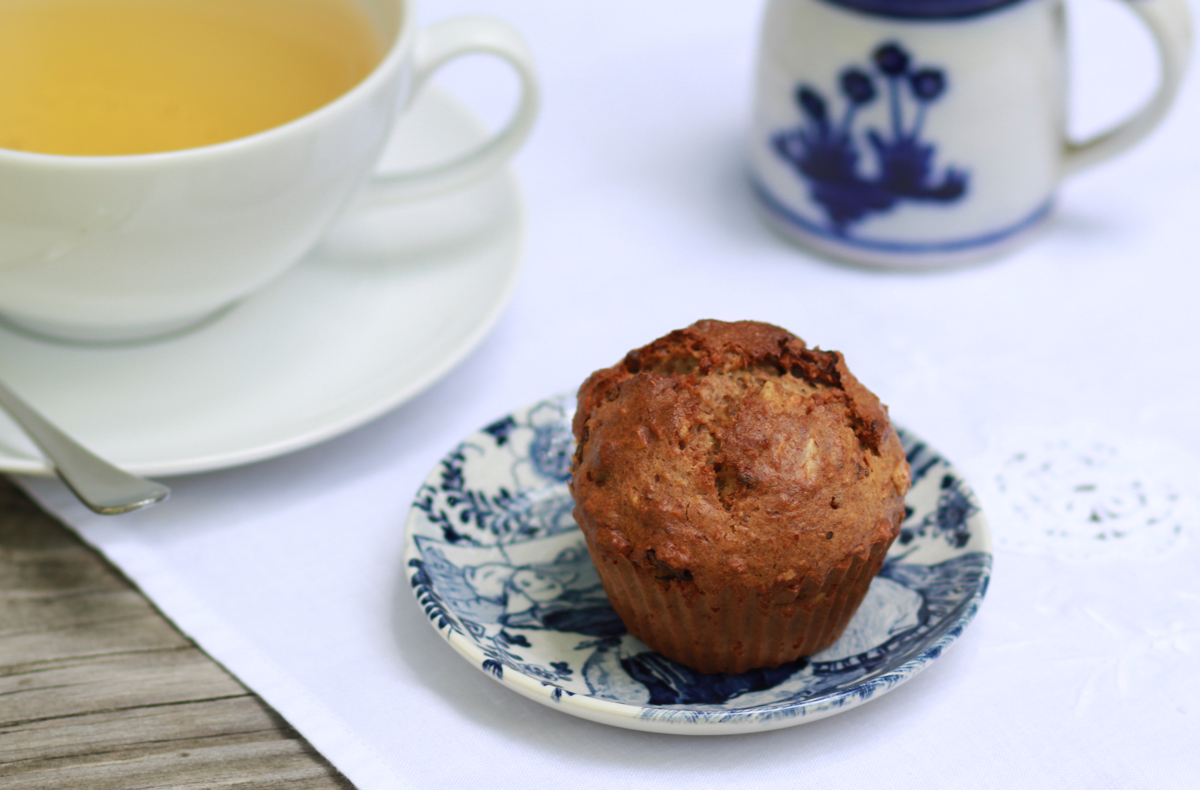 rustic muffins