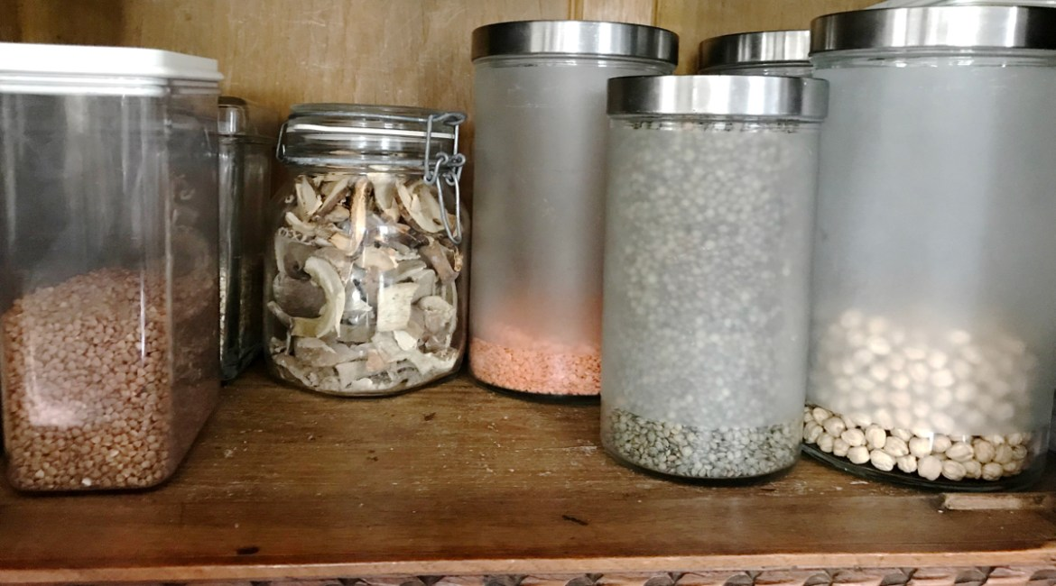 stock your pantry with healthy ingredients