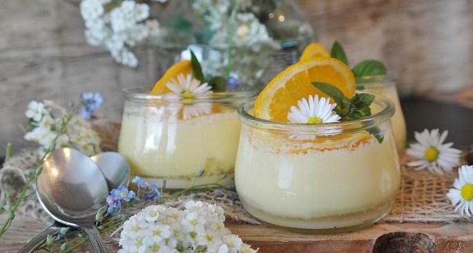 Йогуртовое желе – воздушный кремовый десерт