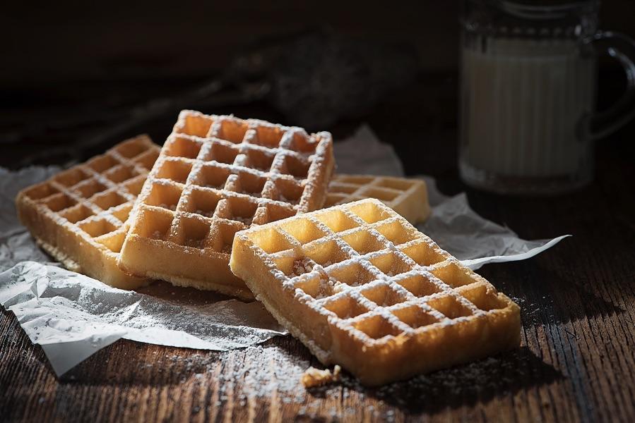 Классический рецепт бельгийских вафель