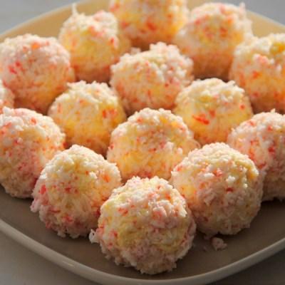 Крабово-сырные шарики