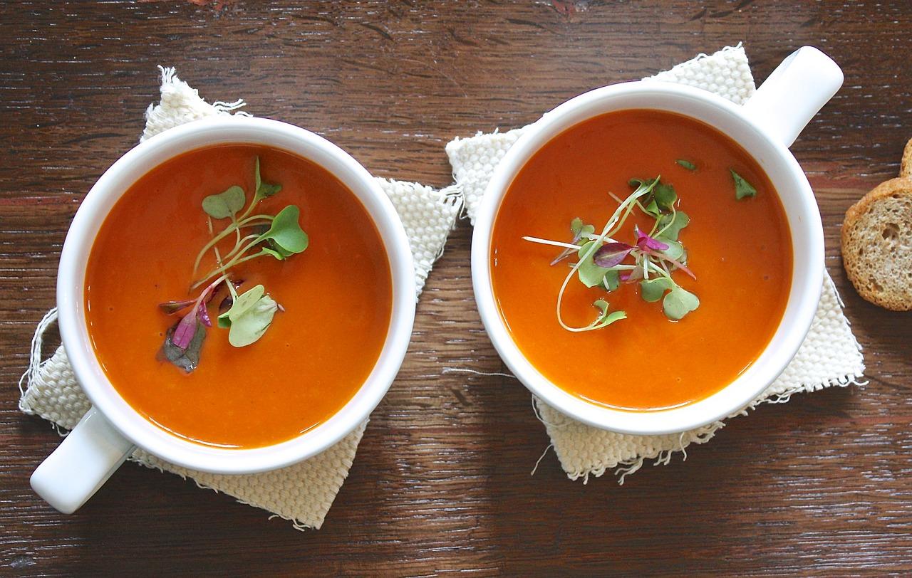 Нежнейший томатный крем-суп