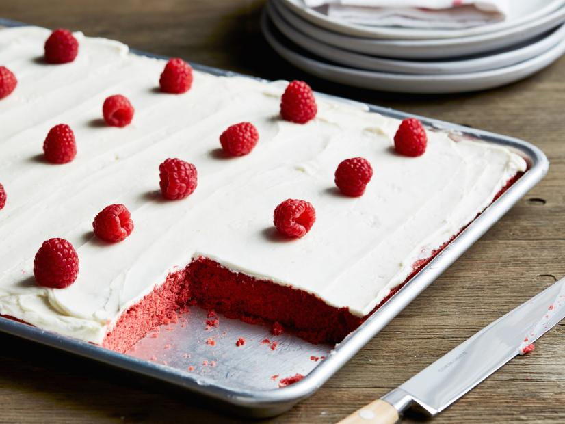 Vanilla Red Velvet Cake Recipe