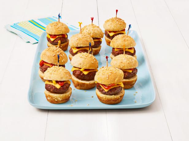 Bite Size Burgers Recipe Food Network Kitchen Food Network