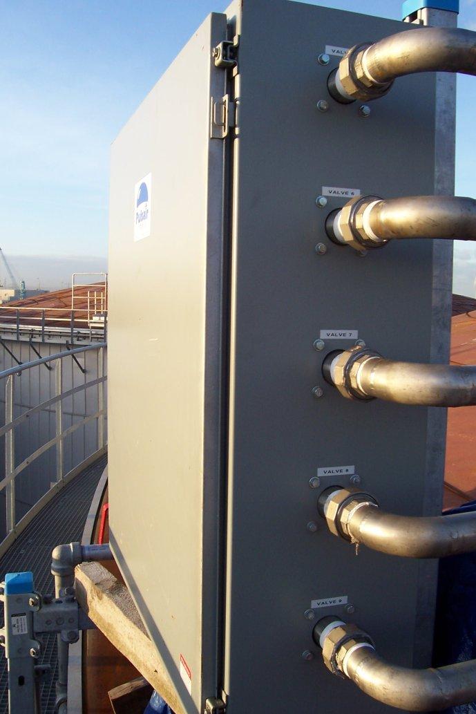food oil blending system nitrogen