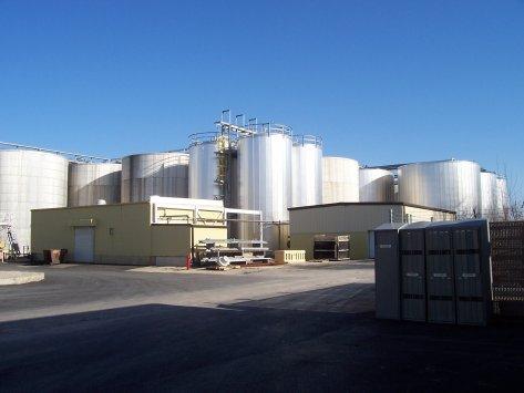 large tank food oil blending system nitrogen
