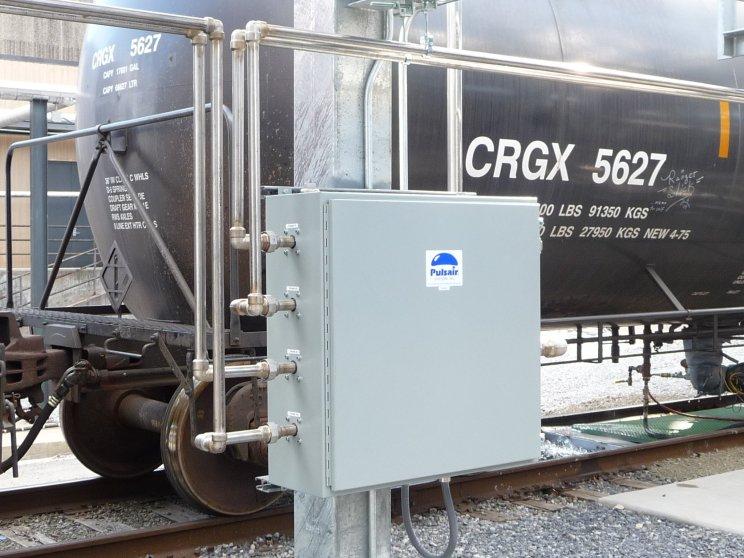 rail tank car mixing