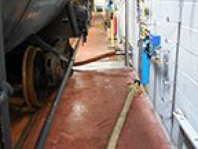 rail car tank mixing