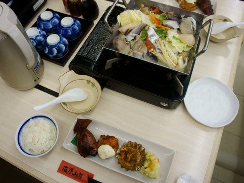 3rd Day Lunch on Hokkaido Trip