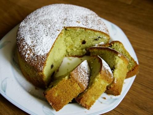 Matcha Milk Pound Cake
