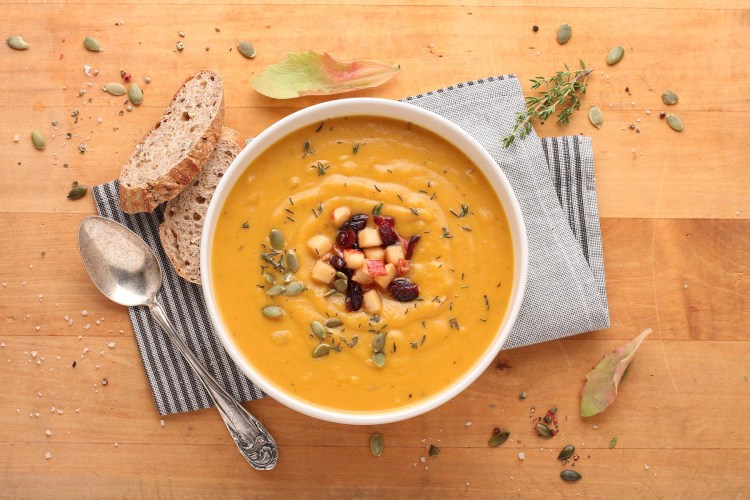 soup food photography