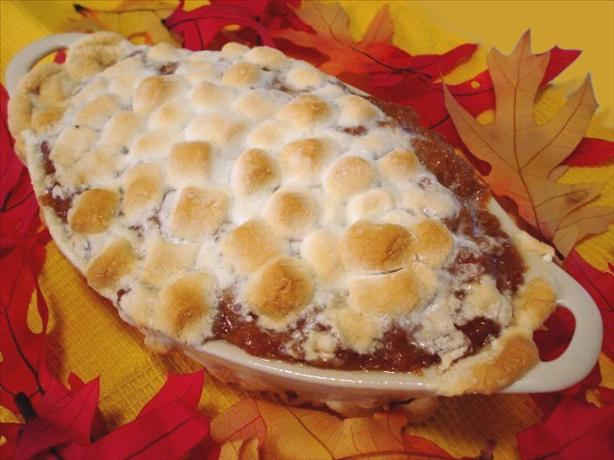Sweet Potato (Yam) Casserole With Marshmallows. Photo by Marg (CaymanDesigns)