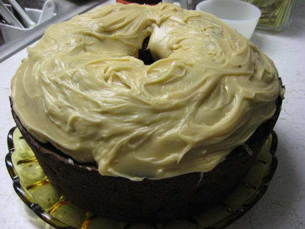Pumpkin Spice Cake with Maple Icing