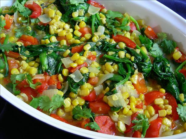 Spicy Corn Ragout Recipe