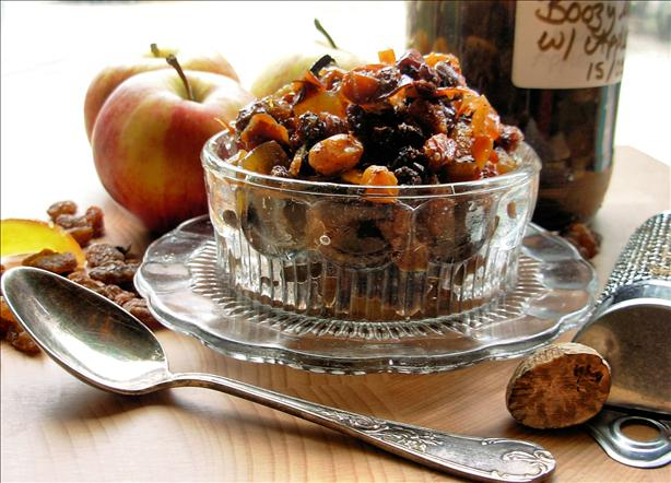 Boozy Fat Free Mincemeat