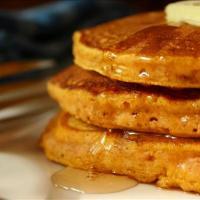 Dairy Free Pumpkin Pancakes