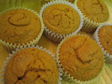 Butternut Squash Muffins, Diabetic. Photo by brokenburner