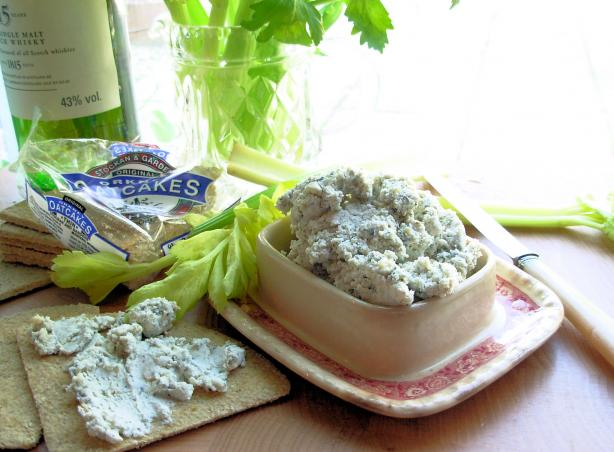 Auld Alliance: Potted French Blue Cheese and Scotch Whisky Pate.