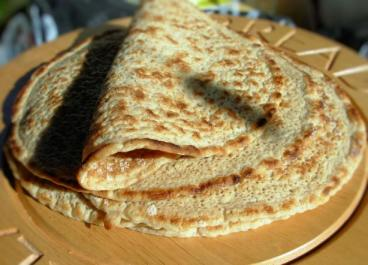 Staffordshire Oatcakes and Honey