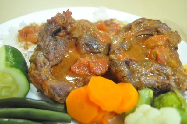 Ossobuco Al Forno - Baked Veal Shanks. Photo by I'mPat