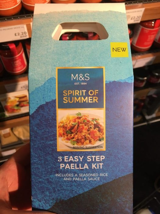 """3 easy step paella kit"""