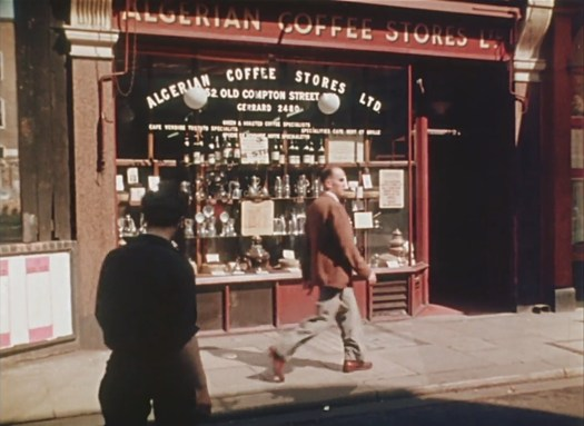 Algerian Coffee Stores front, 1956