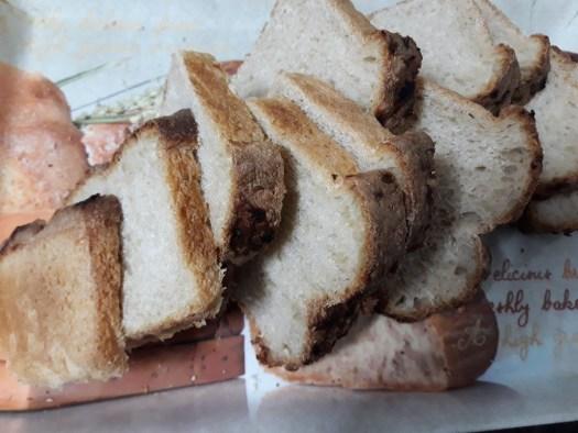 Gift loaf, sliced